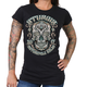 Women's Black 2017 Sturgis Antique Sugar Skull T-Shirt