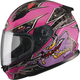Youth Pink/Purple GM49Y Alien Street Helmet