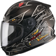 Youth Black/Silver GM49Y Alien Street Helmet