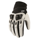 White Konflict Gloves