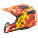 Youth Orange/Yellow GPX 5.5 V06 Helmet