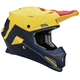 Navy/Yellow Sector Level Helmet