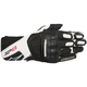 Black/White SP-8 v2 Leather Gloves