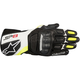 Black/White/Fluorescent Yellow SP-8 v2 Leather Gloves