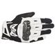 Black/White SMX-2 Air Carbon v2 Leather Gloves