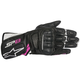 Black/White/Fuchsia Stella SP-8 v2 Women's Gloves