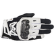 Womens Black/White Stella SMX-2 v2 Air Carbon Gloves