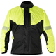 Fluorescent Yellow/Black Hurricane Rain Jacket