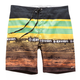 Yellow Chicaneless Swim Trunk