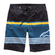 Black Laptime Boardshorts
