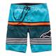Turquoise Laptime Boardshorts