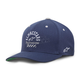 Navy Empire Curve Hat