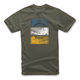 Military Green Burnt T-Shirt