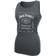 Women's Charcoal Gray Label Tank Top