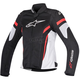 Womens Black/White/Red Stella T-GP Plus R v2 Air Jacket