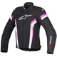 Womens Black/White/Fuchsia Stella T-GP Plus R v2 Air Jacket