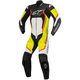 Black/White/Yellow/Red Motegi v2 One-Piece Riding Suit