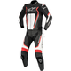 Black/Red/White Motegi v2 Two-Piece Riding Suit
