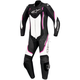 Women's Black/White/Pink Stella Motegi One-Piece Riding Suit