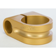 Gold 1 in. Milled Mirror Mount - R-MM100-M6