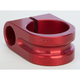 Red 1 in. Milled Mirror Mount. - R-MM100-M7