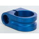 Blue 1 in. Milled Mirror Mount - R-MM100-M8