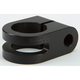 Black 7/8 in. Slotted Mirror Mount - R-MM875-SB
