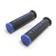 Black/Blue Fusion 2.0 ATV/MTB Grips w/Fusion Bonding System - 00290
