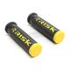 Black/Yellow Fusion 2.0 ATV/MTB Grips w/Fusion Bonding System - 00293