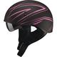 Flat Black/Pink GM65 Naked Torque Half Helmet
