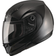 Black MD04 Modular Street Helmet