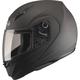 Flat Black MD04 Modular Street Helmet