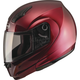 Wine Red MD04 Modular Street Helmet