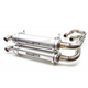 Brushed Stainless Dual Exhaust System - TR-4120D