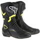 Black/Yellow SMX 6 V2 Vented Boot