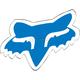 Blue 2.5 in. Fox Head Sticker - 14897-002-OS