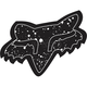 Black 7 in. Splatter Sticker - 14902-001-OS