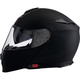 Flat Black Solaris Modular Helmet