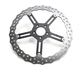 15 in. Left Side Big Brake Wave Rotor Kit - 02-990