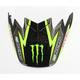 Black/Green Visor for Moto-9 Flex Monster Energy Pro Circuit 2017 LE Helmet - 7084487