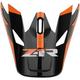 Orange Rise Visor Kit - 0132-1084