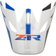 Orange/Blue Rise Visor Kit - 0132-1085