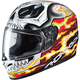 Red/White/Black FG-17 Marvel Ghost Rider MC-1 Helmet