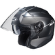 Semi-Flat Anthracite/Black IS-33 II Niro MC-5SF Helmet