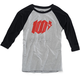 Heather Gray/Black Youth Bolt T-Shirt