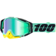 Racecraft Kloog Goggles w/Green Mirror Anti-Fog Lens+Extra Clear Lens - 50110-206-02