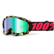 Accuri Chapter 11  Goggles w/Green Mirror Anti-Fog Lens+Extra Clear Lens - 50210-209-02
