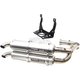 Silver Stage 5 Dual Exhaust System - TR-4151D