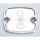 Polished Front Master Cylinder Cover - R-C122-TP