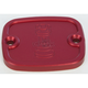 Red Front Master Cylinder Cover - R-C122-T7